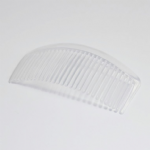 B1387CL Side Comb: Crystal: 10cm: Pack of 12: Clear